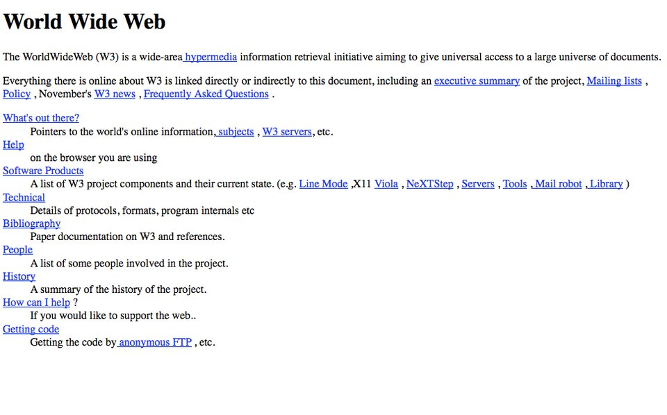 10 INTERESTING FACTS FROM THE HISTORY OF WEB DESIGN 2